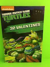 Nickelodeon Teenage Mutant Ninja Turtles 32 Valentine Day Cards New