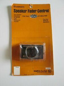 VINTAGE SPEAKER FADER CONTROL WALLFRIN NOS # 5-96 WALLFRIN LA-CAL BROOKLYN NY