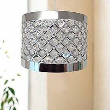 Moda Sparkly Ceiling Pendant Light Shade Ing Silver