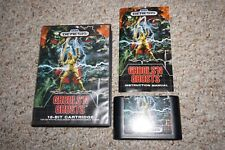 Ghouls N Ghosts (Sega Genesis) Complete in Case GREAT Shape