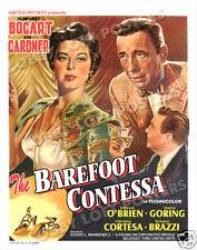 THE BAREFOOT CONTESSA LOBBY CARD POSTER OS/BEL 1954 HUMPHREY BOGART AVA GARDNER