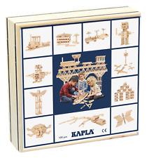 Kapla 100 Holzbausteine in Holzbox mit Anleitung - Neu und OVP