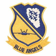 """NAVY BLUE ANGELS 4"""" EMBROIDERED PATCH"""