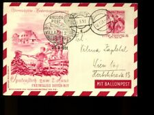 Austria Envelope Postal Stationary STO/PTO used, ballon post       6a204