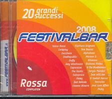 FESTIVALBAR 2008 - COMPILATION ROSSA - CD ( NUOVO SIGILLATO )
