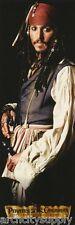 LOT OF 2 DOOR POSTERS: MOVIE REPRO: PIRATES OF CARRIBEAN - JACK   #8456 RAP110 B