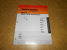 1977 2 hp Johnson Evinrude Outboard Factory Repair & Service Manual