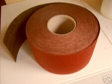 PREMIUM ABRASIVE PAPER ROLLS 115mm X 5 METRES IDEAL FOR WOODTURNERS 60g-1200grit