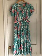 Vintage 1980's Hawaiian dress size 8