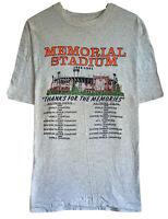 Vtg Baltimore Orioles '91 Memorial Stadium HOF Men's Sz XL Single Stitch T-Shirt