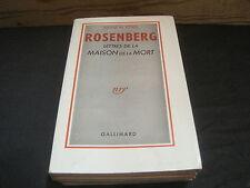 Julius et Ethel ROSENBERG: Lettres de la maison de la mort