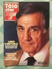 TELE STAR French n 751 Fev 1991 - Lino VENTURA Patrick BRUEL SORAYA CARRADINE