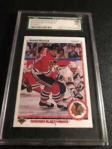 1990-91 UD-Jeremy Roenick -Rookie SGC Mint 9