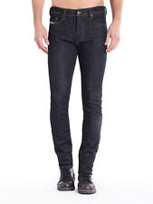 DIESEL Tepphar Men's Slim Carrot Fit Stretch Jeans Dark Indigo $328 NEW 32x32