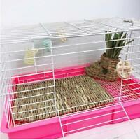 Grass Woven Bed Small Animal Pet Safe Chew Cage Mat Guinea Pig Rabbit Hamster 6L