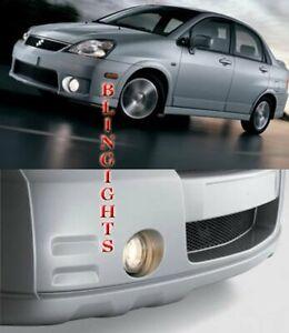 2002 2003 2004 Suzuki Aerio Halo Fog Lamp Driving Light Kit Angel Eyes