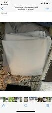 New Washed Linen Wamsutta Vintage Duvet Cover Queen Size