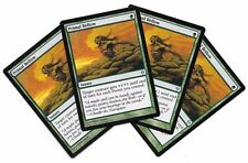 4 PRIMAL BELLOW Zendikar NM Ingles MTG Clamor Primordial x4 Magic