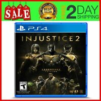 Injustice 2 Legendary Edition PS4 Game for Sony PlayStation 4 NEW & SEALED