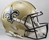NEW ORLEANS SAINTS NFL Riddell SPEED Full Size Authentic Football Helmet