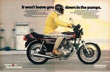 1980 Suzuki GS-450 Motorcycle 2-page Vintage Print Ad