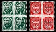 3. REICH 1934 Nr 544-545 postfrisch VIERERBLOCK X77D1DA