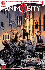 Animosity #1 Ssalefish Comics exclusive variant Garry Brown 1 of 200 Aftershock