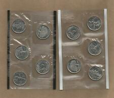 1999-P&D Statehood Quarters 10 Coins In Mint Cello Free Shipping !