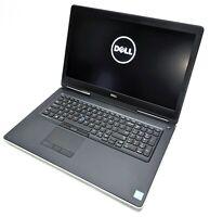 "Dell Precision 7710 17.3"" IPS Laptop i7-6920HQ 2.90GHz 8GB RAM No HDD 47XXZF2"