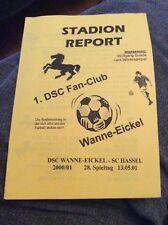DSC Wanne-Eickel v SC Hassel 2000/01 Programme