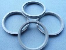 4x  Zentrierringe 75,0 mm 66,6 mm für Alufelgen grau 1429