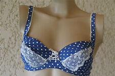 bra soutien gorge bleu à pois armatures LISE CHARMEL 90C neuf VAL 77€