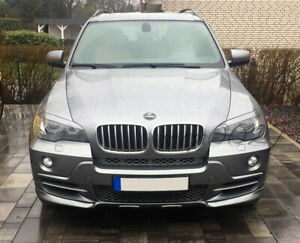 Fits BMW X5 E70 - Eye Brows Head Light Cover