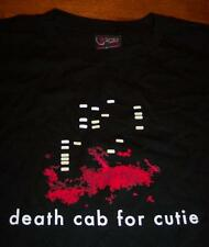 DEATH CAB FOR CUTIE BAND SUMMER TOUR 2006 T-Shirt SMALL NEW