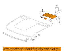 Chevrolet GM OEM 11-14 Silverado 2500 HD Hood-Rear Molding Right 22753693