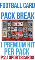 2020 Gold Rush Premier Football CARD Player Pack BREAK 1 RANDOM TEAM Break 4201