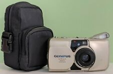New ListingOlympus Stylus Zoom 70 Quartz Date 35mm Point & Shoot Film Camera Weatherproof
