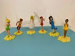 Disney / Playmates - 2008 - Tinkerbell - Fairies Tinker Bell & Friends Figures