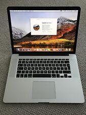 "Apple MacBook Pro 15"" Retina 2012 2.3ghz i7 8gb 128gb SSD Faulty USB's (705)"