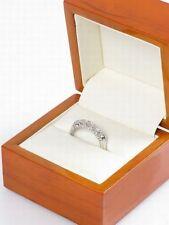 18k White Gold 0.75ct Diamond Engagement Ring Sz N £2500 BNIB