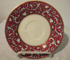 RARE DISCONTINUED LENOX CHINA FIRESONG PATTERN SAUCER ONLY!!! MINT