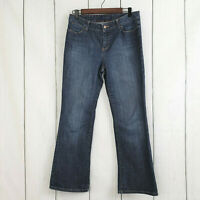 "TALBOTS Petites Signature Boot Denim Jeans Women's Size 10P 28"" Inseam Stretch"