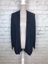 Debenhams Womens Navy Long Sleeve Chunky Knit No Fasten Cardigan Size 18