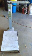 l Detecto Platform Scale 1000 Lb Model 854 VINTAGE