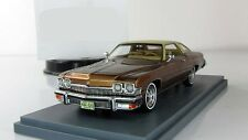 1:43 Neo Buick Le Sabre 2d hardtop coupe Brown Metallic 1974 NEO 44120