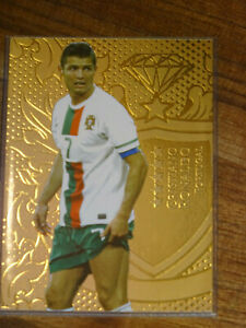 Futera Unique 2011 Ronaldo gold card 291 of 295
