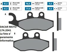 174.2041 PASTILLA DE FRENO SINTERED POLINI PIAGGIO X 9 250 EVOLUTION
