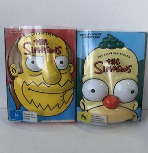 The Simpsons : Season 11 & Season 12 (DVD, 2009, 4-Disc Set) - Limited edition c