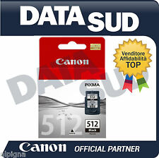 Canon Cartuccia Inkjet Originale PG-512 Nero per Pixma iP2700,MP250,MP280,MX360