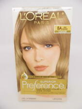 L'Oréal Superior Preference Fade-Defying Permanent Hair Color, 8A Ash Blonde